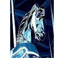 Midnight Ride Of A Wild Horsey Photographic Print