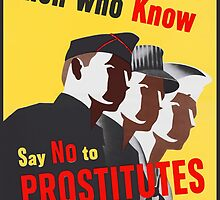 Men Who Know Say No To Prostitute - Color by Djidiouf
