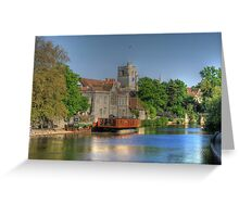 All Saints Maidstone  Greeting Card