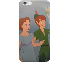 Peter Pan Michael Wendy Tinkerbell Tink Tinker Bell Neverland iPhone Case/Skin
