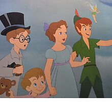 Peter Pan Michael Wendy Tinkerbell Tink Tinker Bell Neverland by notheothereye