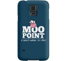 A Moo Point Samsung Galaxy Case/Skin