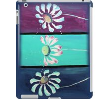 The Three Flowers - Decorative Art by Valentina Miletic iPad Case/Skin