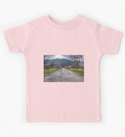 Napa Vineyard Road Kids Tee