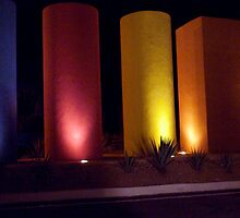 Welcoming Pillars by phil decocco