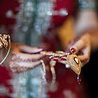 Brides hands by naureen bokhari