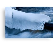 Blanket Of Ice And Snow Canvas Print