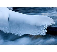 Blanket Of Ice And Snow Photographic Print