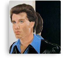 What do you mean there's a strand of hair out of place? Canvas Print