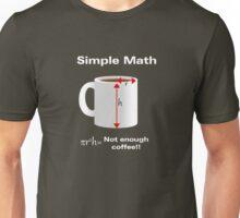 Caffeinated Math - Volume Unisex T-Shirt
