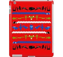 Happy Geeksmas Ugly Red Sweater iPad Case/Skin