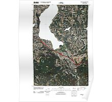 USGS Topo Map Washington State WA Issaquah 20110504 TM Poster