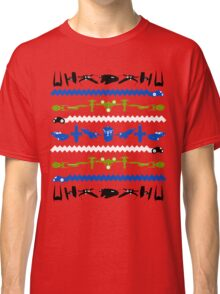 Happy Geeksmas Ugly Red Sweater Classic T-Shirt