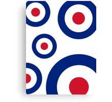 Mod Targets by 'Chillee Wilson'  Canvas Print
