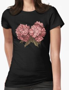 Botanical - Tattoo Flash Womens Fitted T-Shirt