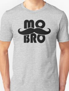 MO BRO for Mustached Gentlemen ~ MOVEMBER T-Shirt