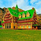 Prince Of Wales Hotel, Waterton National Park, Alberta, Canada by Laurast