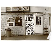 Congers, New York - Gas Station Poster
