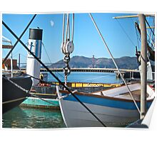 San Francisco old ships Poster