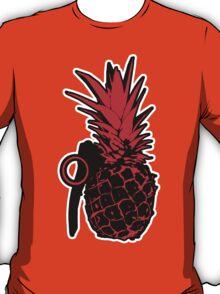 Pineapple Grenade (Red) T-Shirt