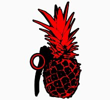 Pineapple Grenade (Red) Unisex T-Shirt