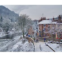 Winter in England Photographic Print