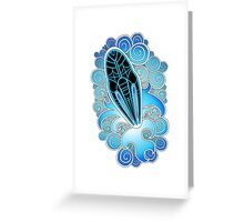 Moya Starburst Greeting Card