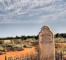 R.I.P. Silverton NSW Australia by Bev Woodman