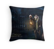 Grave Digger, Haunted Mansion Series by Topher Adam The Dark Noveler Throw Pillow