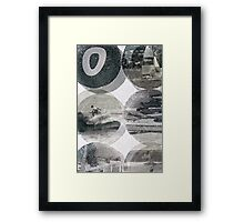 Sail Kyak Surf Framed Print
