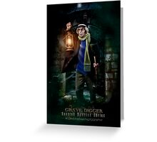 Night Shift, Haunted Mansion Series by Topher Adam The Dark Noveler Greeting Card