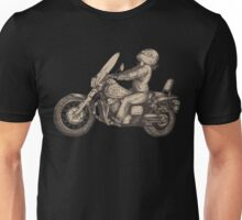 Women Who Ride - As the Magpie Flies Unisex T-Shirt