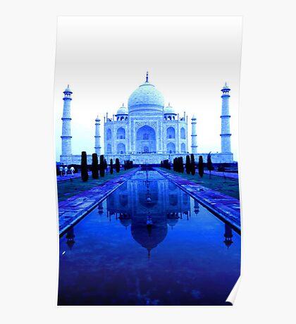 Taj in Tungsten Poster