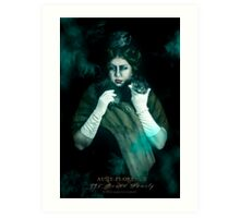Aunt Florence, Haunted Mansion Series by Topher Adam The Dark Noveler Art Print