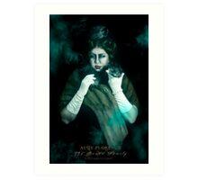 Aunt Florence, Haunted Mansion Series by Topher Adam The Dark Noveler Art Print