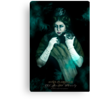 Aunt Florence, Haunted Mansion Series by Topher Adam The Dark Noveler Canvas Print