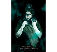 Aunt Florence, Haunted Mansion Series by Topher Adam The Dark Noveler Photographic Print