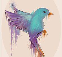 Bird Of Color by Xypop