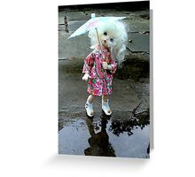 Puddle Greeting Card