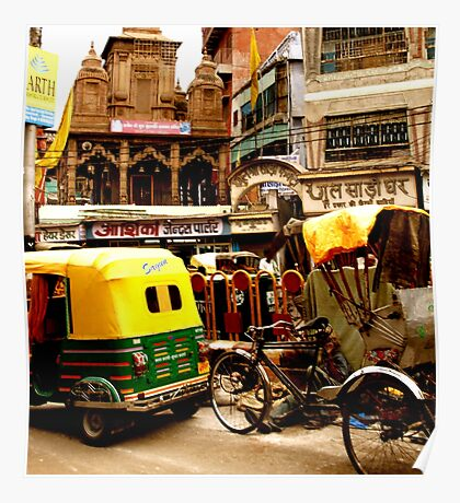 Streets of India Poster