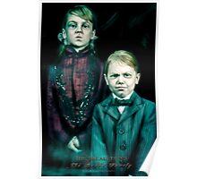 The Twins, Haunted Mansion Series by Topher Adam The Dark Noveler Poster