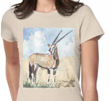 Rapier horns - Gemsbuck Womens Fitted T-Shirt