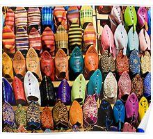 Marrakesh Markets Poster