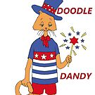 Yankee Doodle Kitty by redqueenself