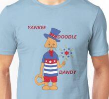 Yankee Doodle Kitty Unisex T-Shirt