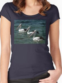 Pelicans,South Coast,NSW,Australia 2015 Women's Fitted Scoop T-Shirt