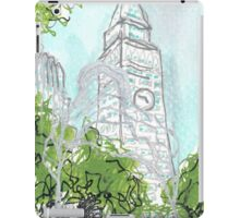 sculpture in madison square park iPad Case/Skin