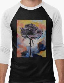Black Rose Men's Baseball ¾ T-Shirt