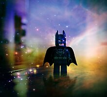 The Caped Crusader by Darlene Lankford Honeycutt