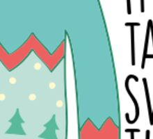 Tacky Sweater Time Sticker
